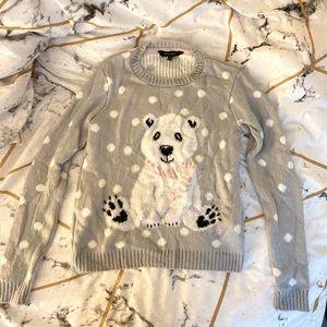 Adorable NewLook Polar Bear Ugly Christmas Sweater